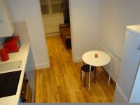 ZONE 2. FURNISHED LARGE ROOM AVAILABLE TO RENT IN IMMACULATE APARTMENT. 3 MIN FROM STATION.