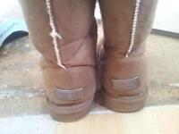 Tan Knee high Ugg boots size 7