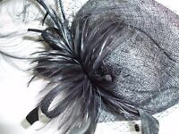LOVELY BLACK FASCINATOR