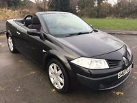 Great Value 2007 Renault Megane Convertible 1.6 Dynamique 84000 Miles Aug 2017 MOT Electric Roof