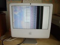 Apple iMac G5 17 inch Model A1208. Spares or Repair