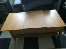 Pullout small table