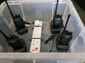 4 x radios for security