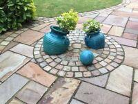 Garden spill pots