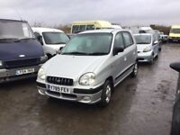 LOW MILEAGE HYUNDAI AMICA IN NICE CLEAN CONDITION ONLY 58000 MILES LOVELY DRIVER CHEAP TO RUN CAR