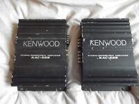 Kenwood KAC-528 Stereo/Bridgeable Amplifier x 2