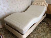 2 electric adjustable single beds