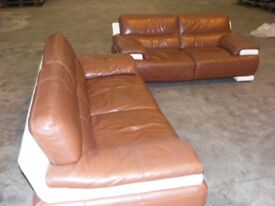 sofas leather,3+2