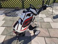 Powakaddy sport trolly with powakaddy bag