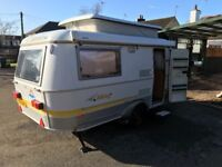 Eriba Triton 420. Year 2000 very good condition selling with many extras. Ono.