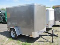 2015 United 5x8 Enclosed Cargo Trailer