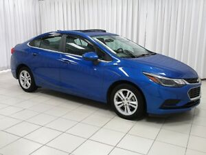 2018 Chevrolet Cruze LT TURBO SEDAN - ONE OWNER OFF LEASE!
