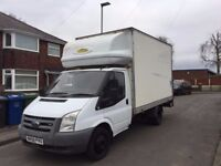 2008 08 ford transit luton van with a tail lift