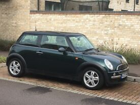 Mini ONE British Racing Green in very clean condition