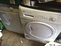 2xBeko condensor dryers.