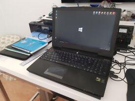 """Aorus X5-CF1 15.6"""" Gaming Laptop (i7 5700 HQ 2.7 GHz, 16GB, RAM, 1 TB HDD & 2x 256GB SSD)"""