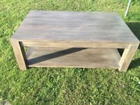 coffee table H40cm, W67cm, L110cm