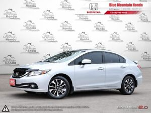 2015 Honda Civic EX only 22,730kms w Winter Tires