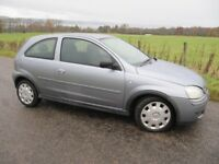 Vauxhall Corsa Design 1.2 16V 3 door Years MOT FSH (10 stamps) only £1250 VGC for age.