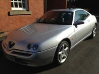 Alfa Romeo GTV Lusso TSpark 16V - 39000, collectors item, showroom condition, runs without fault.