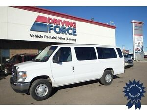 2014 Ford E-350 XL 15 Passenger - Rear Parking Aid, Trailer Tow