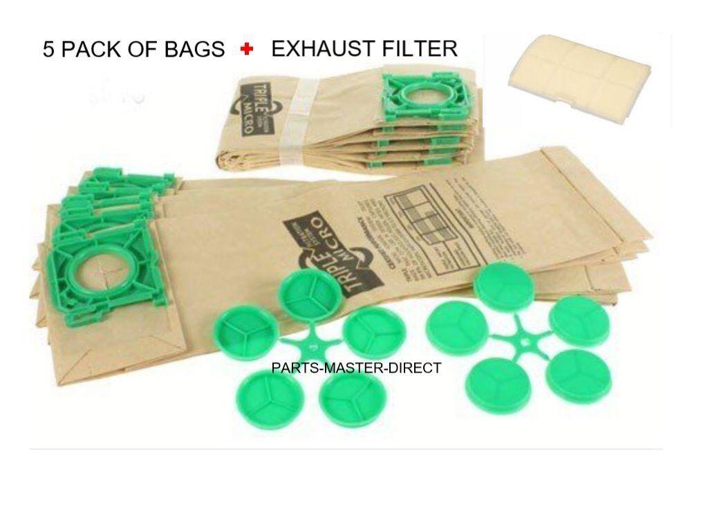 Für Sebo X1 X4 Extra X5 Extra Staub Beutel X 10 /& 2 Filter