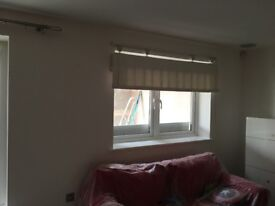 PVC white double window