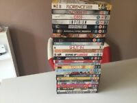 Selection of DVD's 122 in total