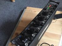 Sound Devices 552 Mixer & Recorder with Portabrace and Cables, works perfectly!