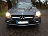 **Convertable Mercedes SLK 250 27K Low Mileage. Female previous owner and immaculate condition**