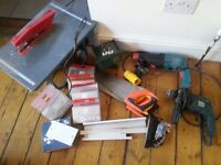 Tools job lot of mixed stuff. Must go my tonight!