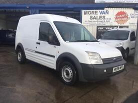 2009 ford transit connect t230 lwb hi roof 1.8 tdci 146k part ex welcome & delivery available