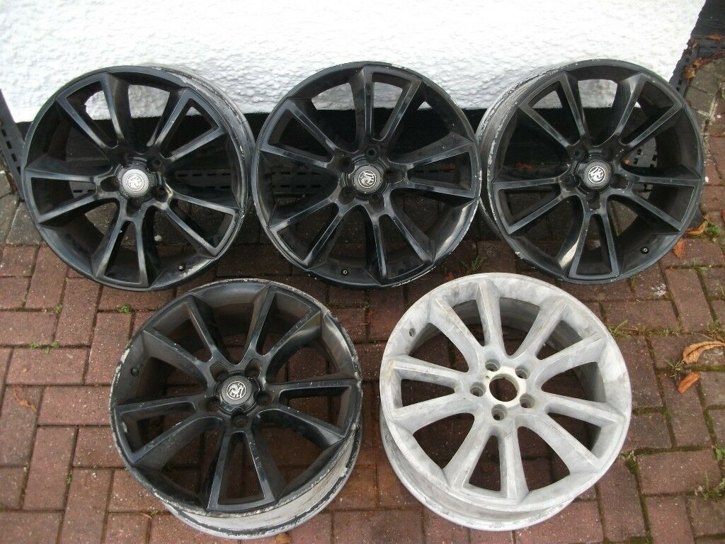 "Vauxhall Astra/Zafira VXR/GSI 19"" Inch Alloy Wheels/Rims Only. Set Of 5. Vectra/Signum"