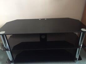 Tv stand Black gloss