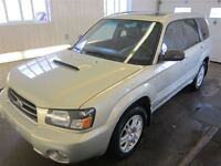 2005 Subaru Forester XT Cuir Traction Intégrale