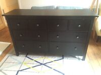 Ikea Hemnes large chest of draws (Black) - Collection Only South London