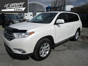 2013 Toyota Highlander 7 passagers
