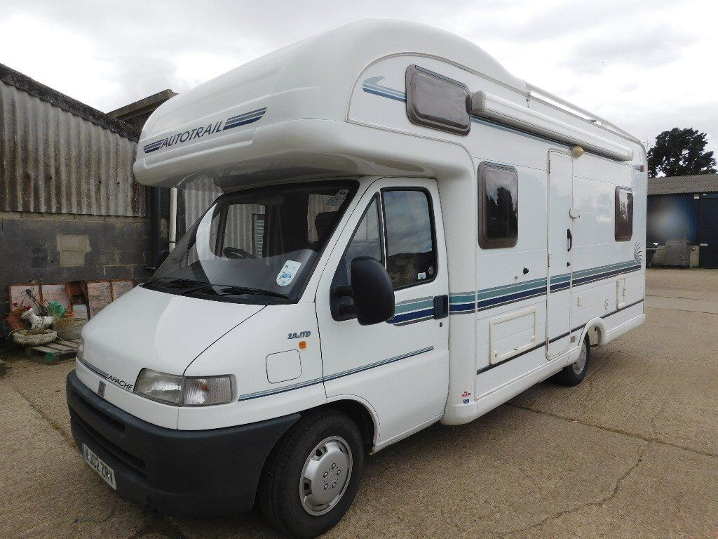 2002 autotrail apache 650 motorhome on fiat ducato 2.8 jtd manual