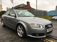 AUDI A4 2.0 S-LINE TDI 140HP,06 PLATE 2006.....S.H...STUNNING MODEL...THE SPEC THE COLOUR THE ONE!!