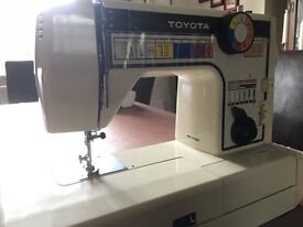 Toyota electric sewing machine