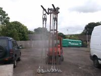 4 leg wire rope container lifting slings heavy duty 18t with certification tags