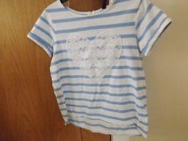 Girls T-Shirt Age 4-5