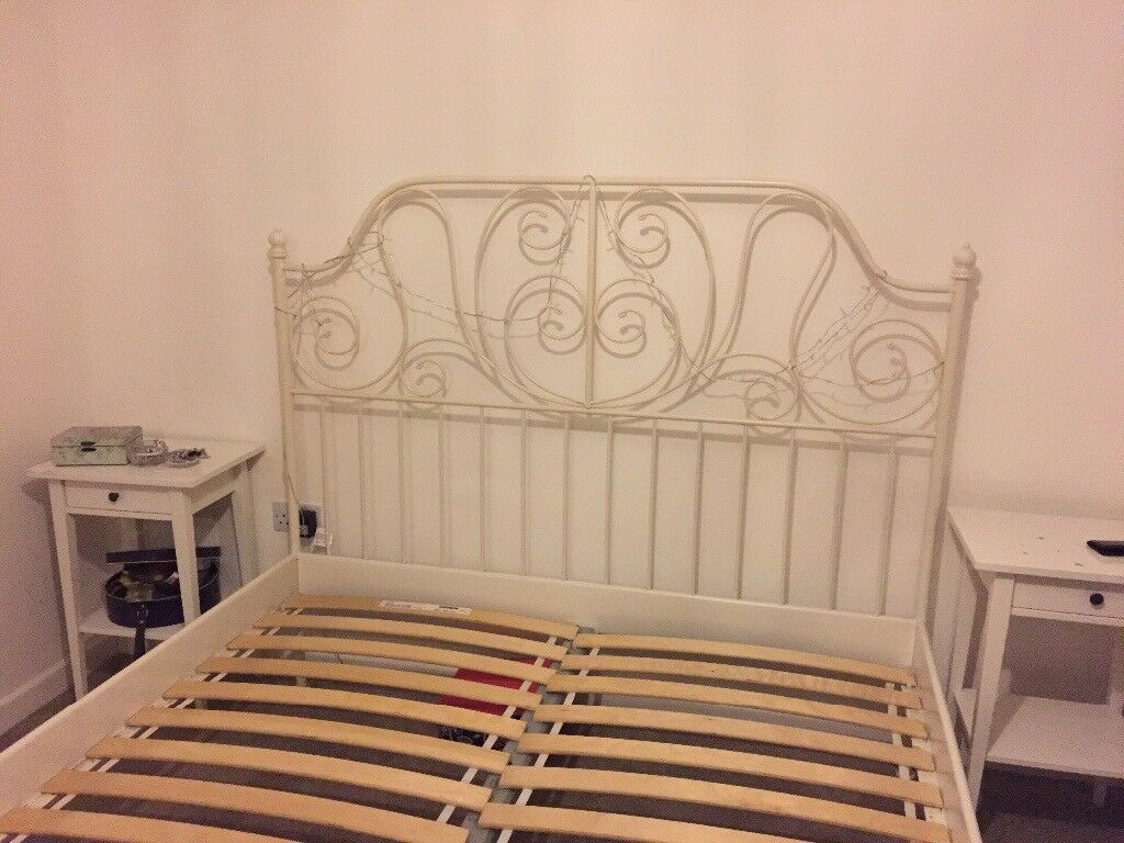 Ivory Ornate King Size Bed Free Just Collect In Christchurch Dorset Gumtree