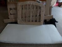 Brand new baby's swing crib