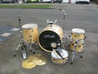 Good Looking Stagg Jia Drum Kit