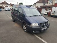 2005 FIAT SCUDO TAXI M1 SPEC LONG MOT EXCELLENT CONDITION INSIDE AND OUT MUST BE SEEN!