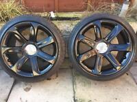 """Set Of Four 18"""" Genuine Audi Alloy Wheels 5x112"""