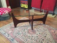 Mid century G plan Glass Coffee Table