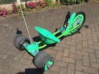 Huffy green machine go cart