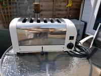dualit 2/4/6 slice toaster